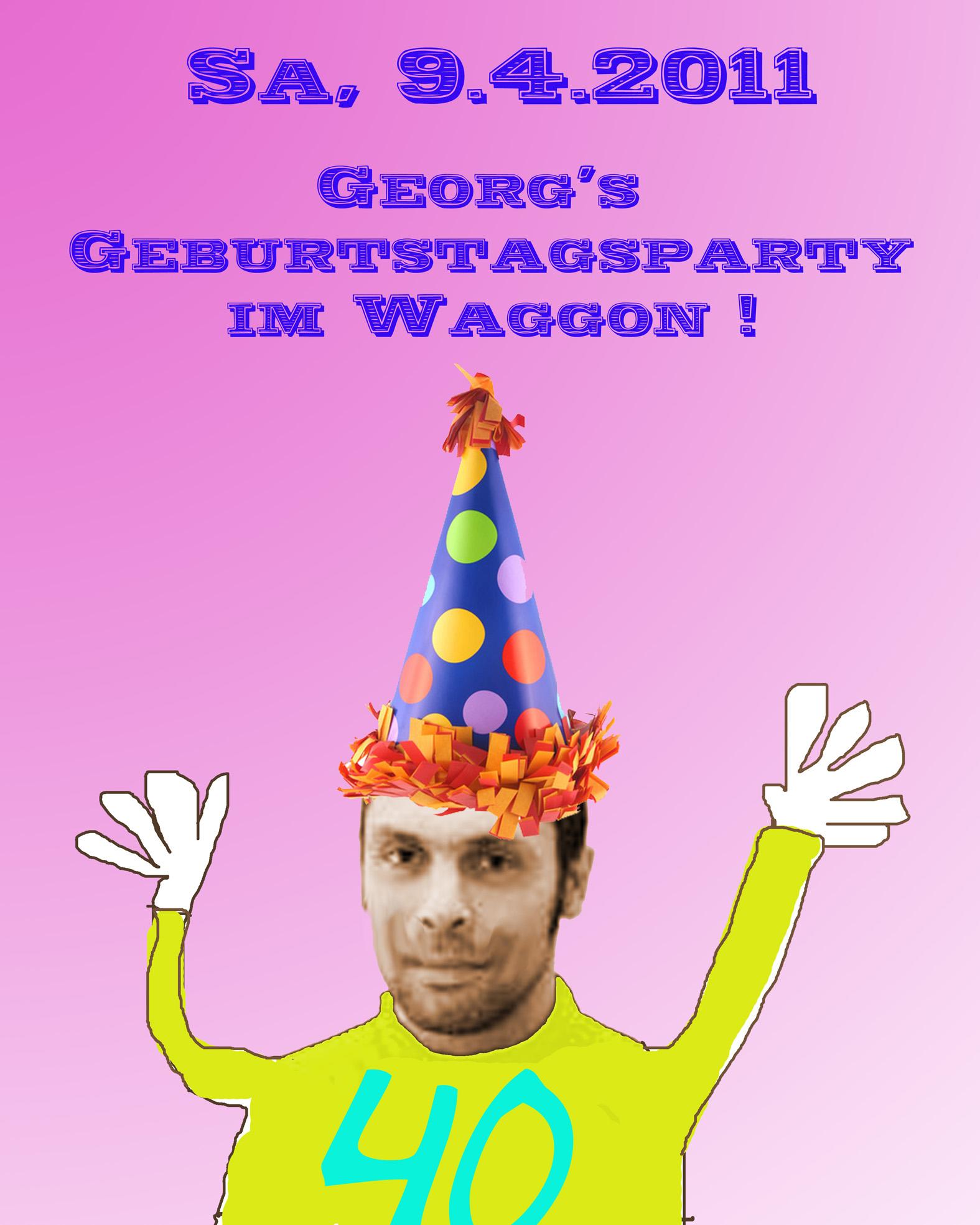 Georg GEburtstag